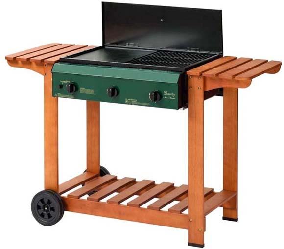 Barbecue a gas e a carbonella ferramenta galvani - Barbecue camping gaz leroy merlin ...